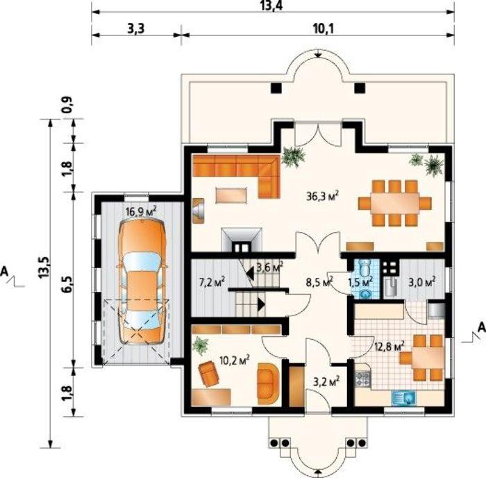 Проект AM-3564 план
