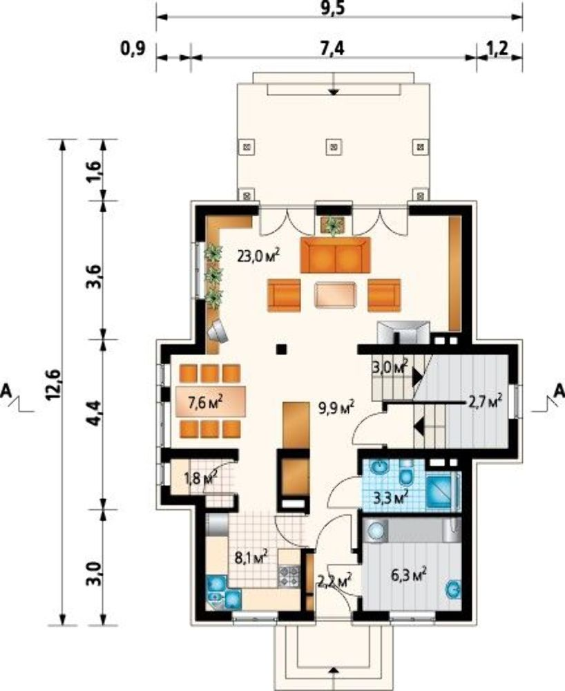 Проект AM-3408 план
