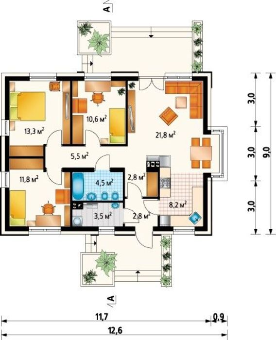 Проект AM-3440 план