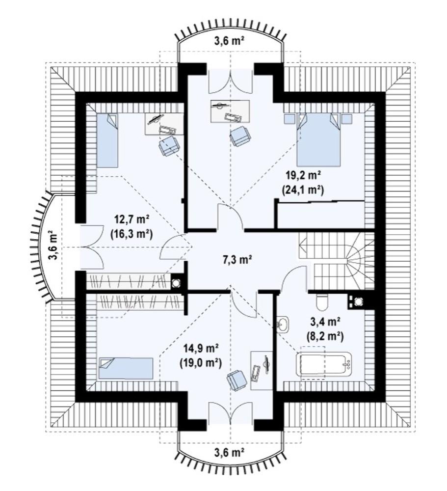 Проект AM-308 план