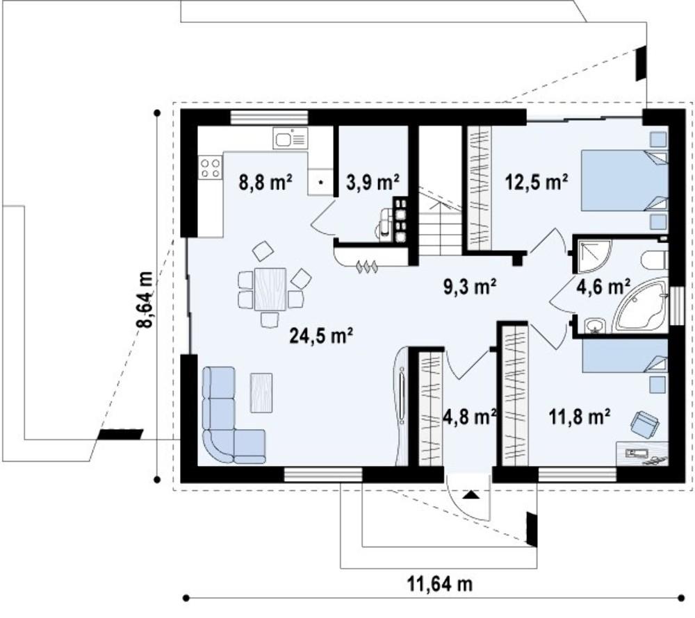 Проект AM-280 план