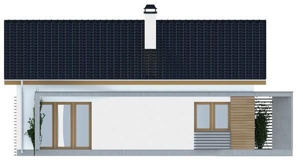 Проект AM-280 фасад