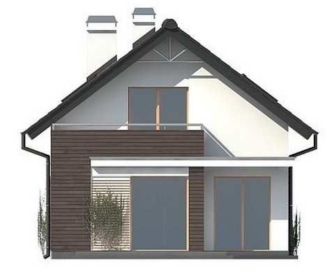 Проект AM-352 фасад