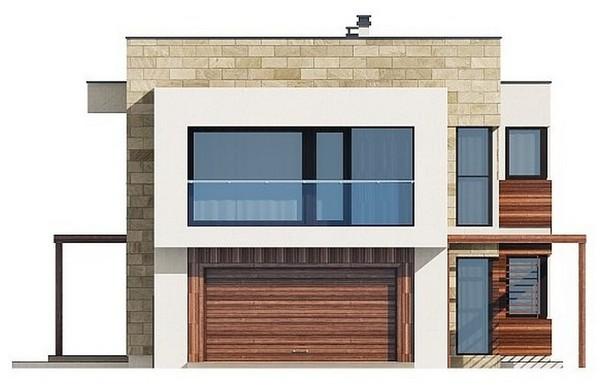 Проект AM-602 фасад