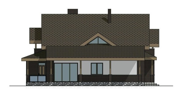 Проект AM-721 фасад