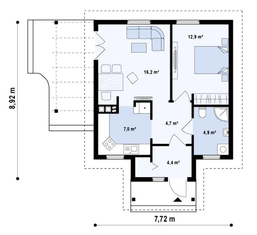 Проект AM-484 план