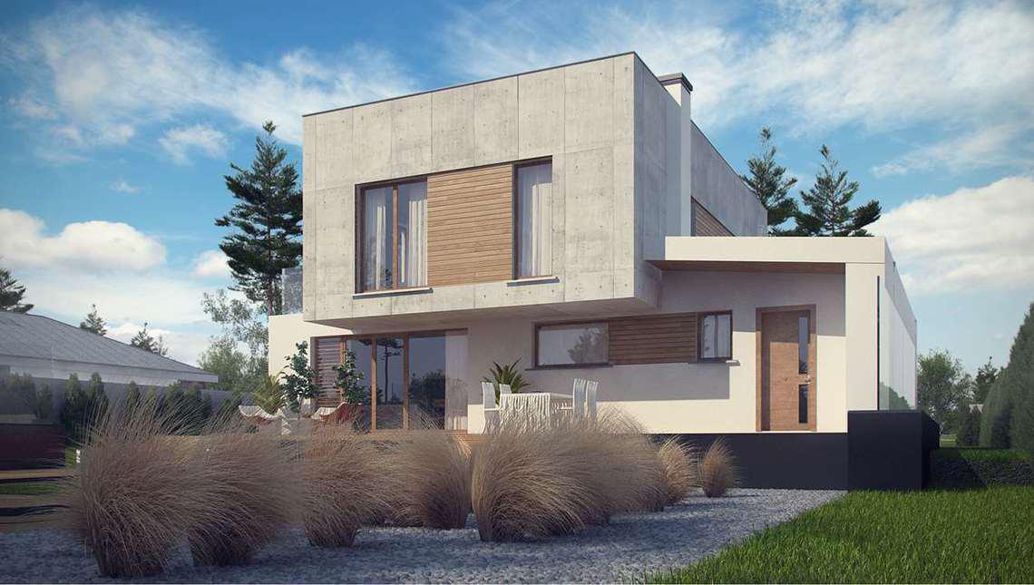 Проект AM-601 фасад