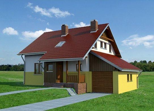 Проект AM-3014 фасад