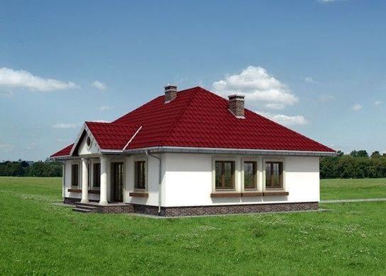 Проект AM-3484 фасад