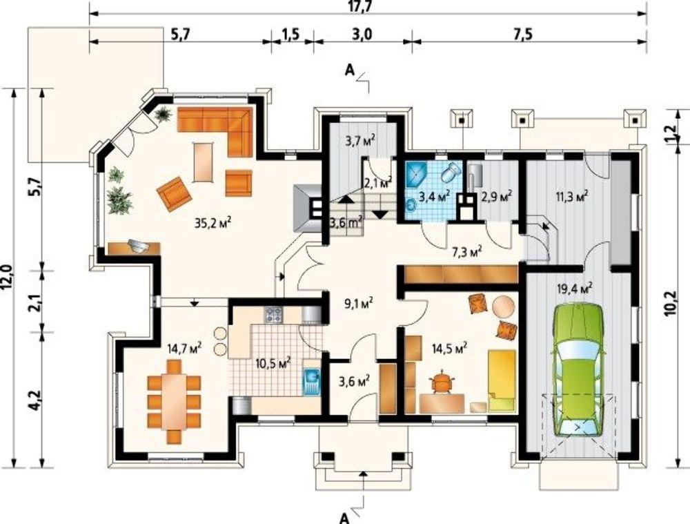 Проект AM-3513 план