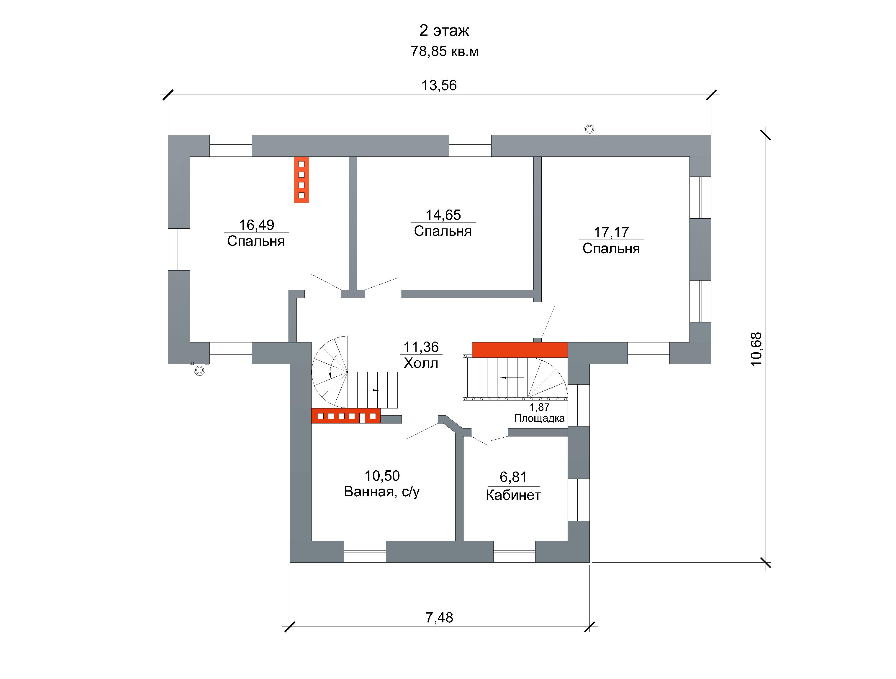 Готовый проект коттеджа 212 м2 / Артикул FP3 план