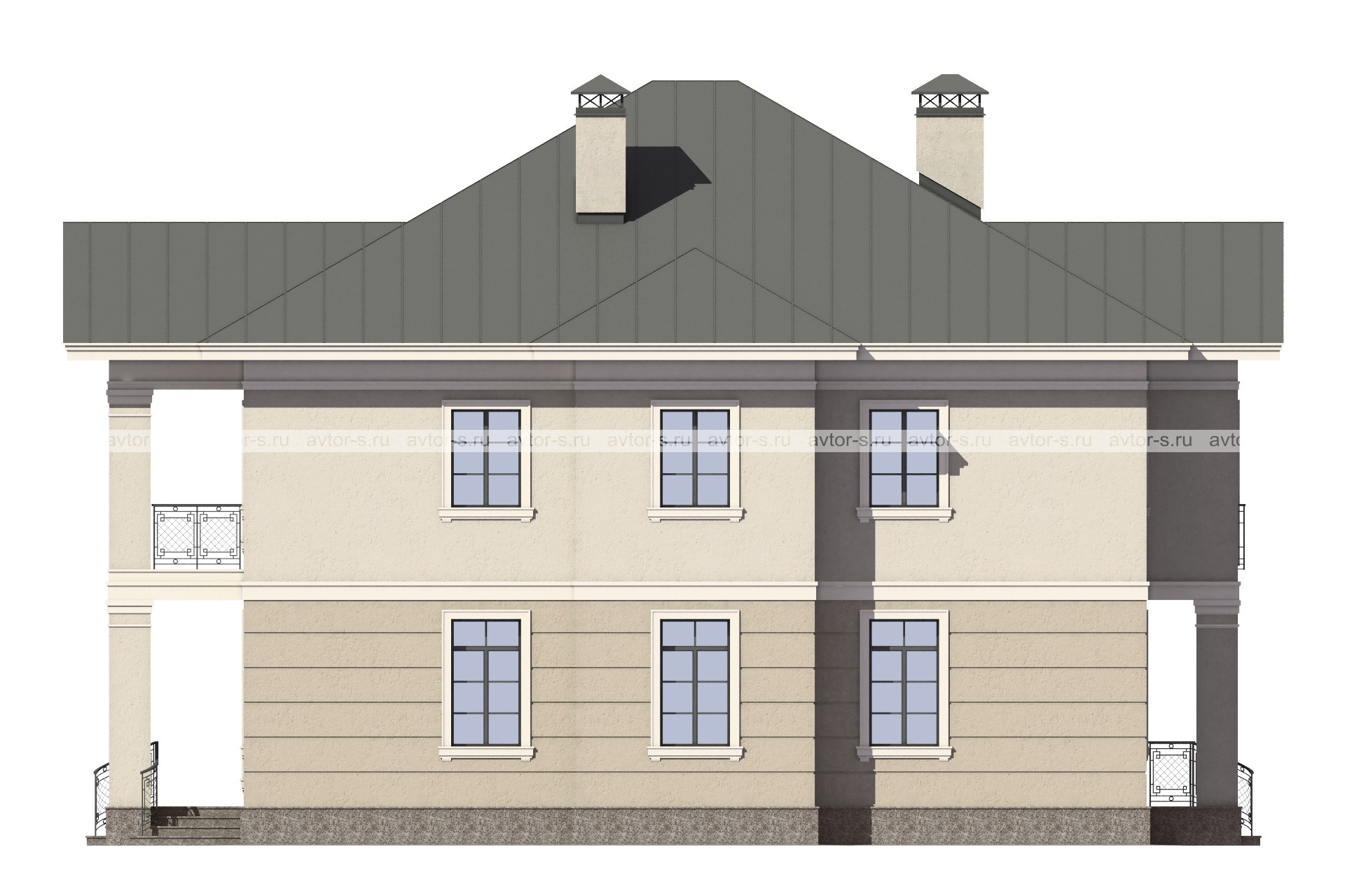 Проект AV306 фасад