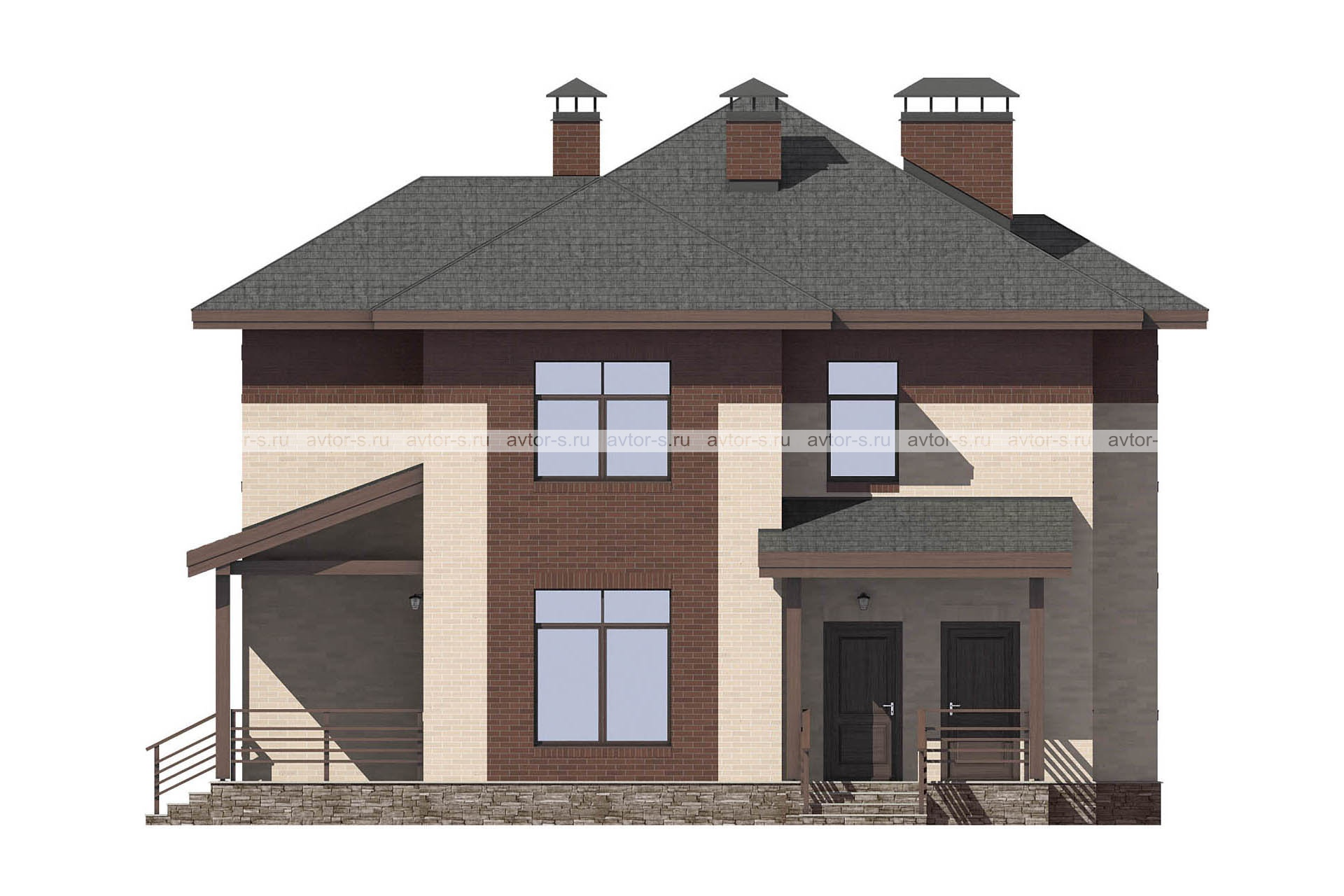 Проект AV312 фасад