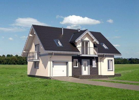 Проект АМ-3680 фасад