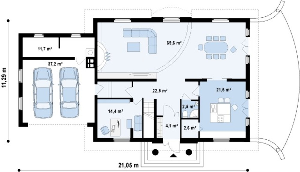Проект АМ-434 план