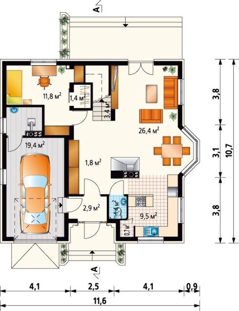 Проект АМ-3039 план