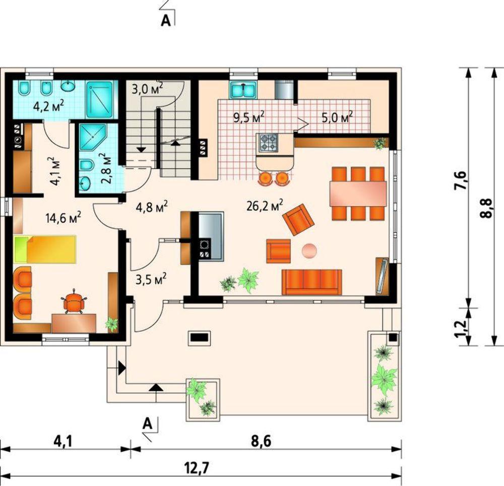 Проект АМ-3354 план