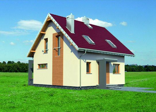 Проект АМ-3547 фасад