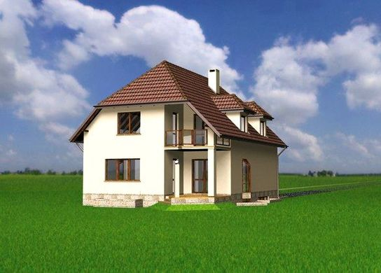 Проект АМ-3640 фасад