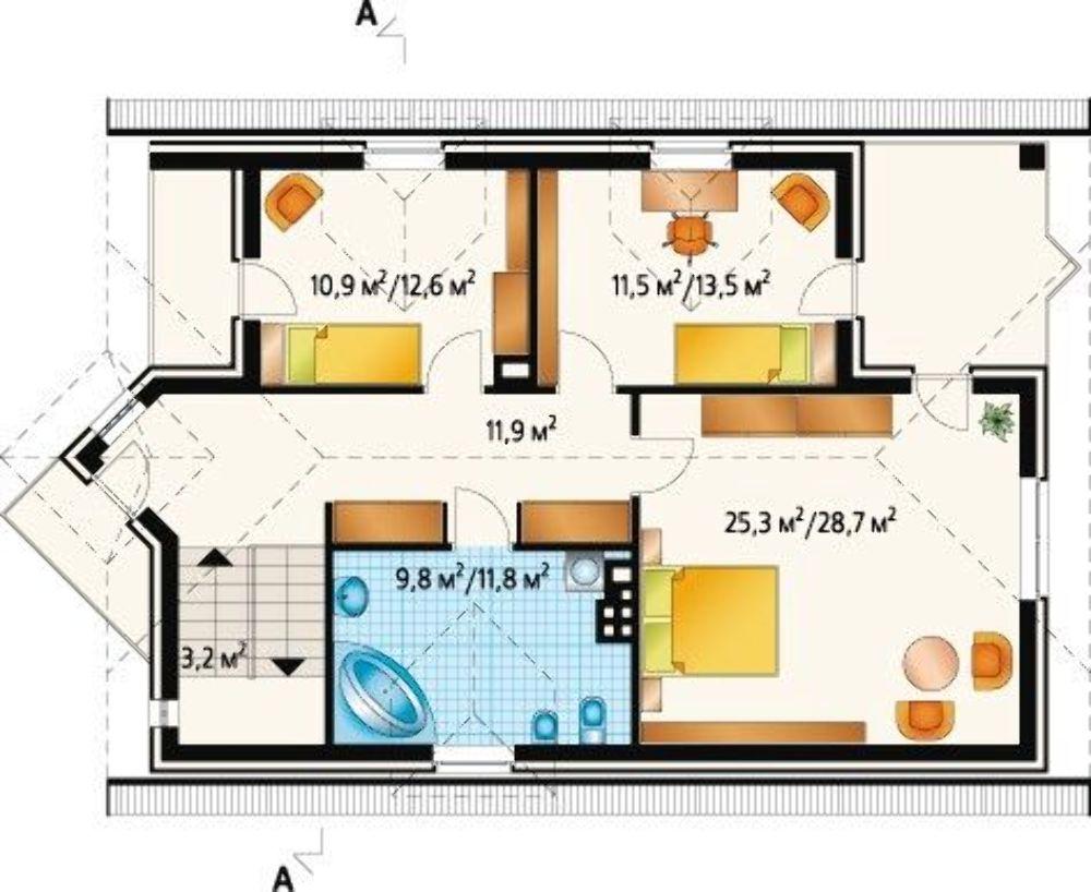Проект АМ-3640 план