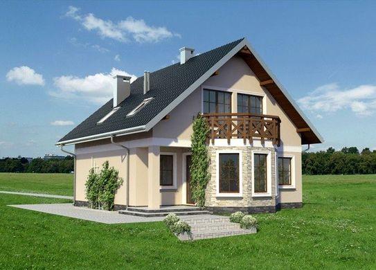 Проект АМ-3667 фасад