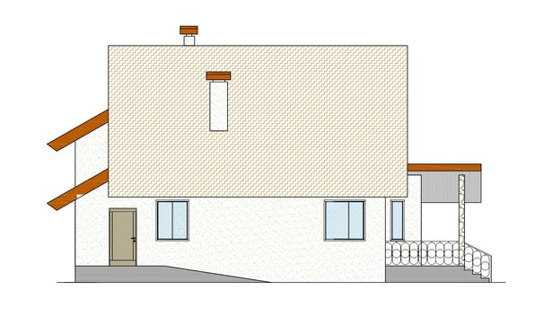 Проект АМ-4701 фасад