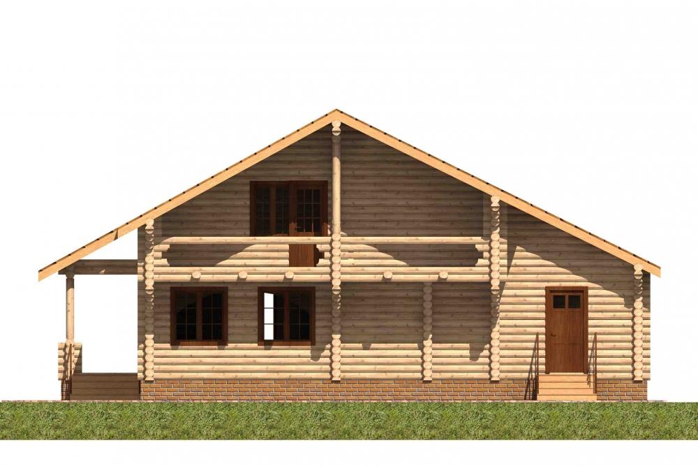 Проект AM-2028 фасад