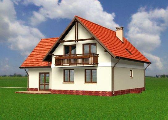 Проект АМ-3420 фасад