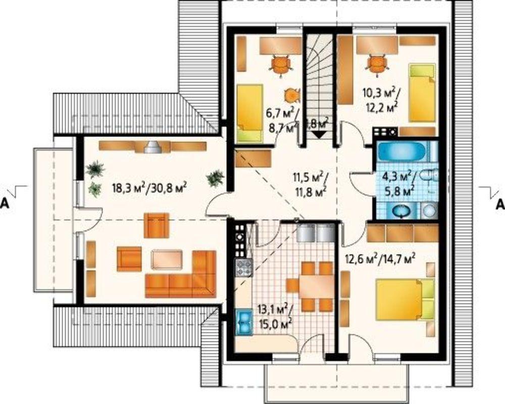 Проект АМ-3420 план