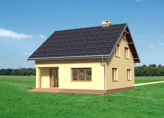 Проект АМ-3675 фасад