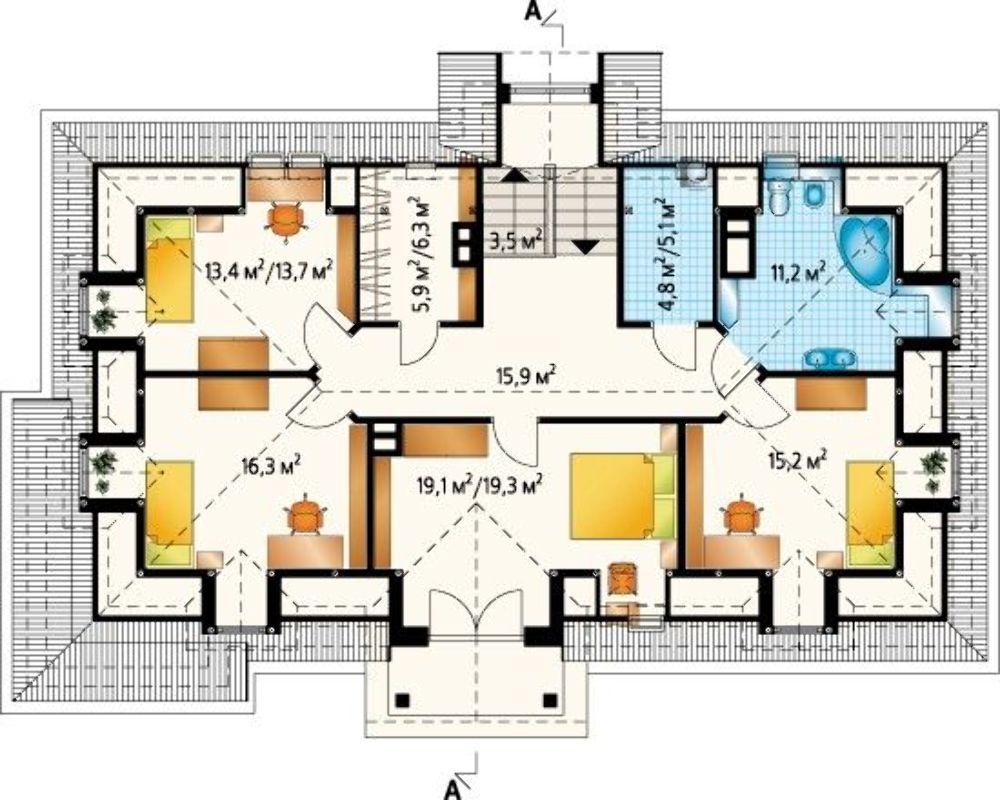 Проект АМ-3543 план
