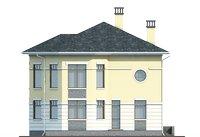 Проект кирпичного дома 39-21 фасад