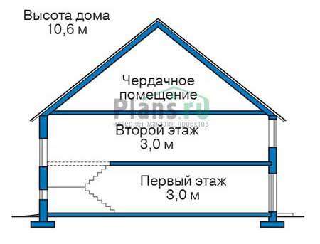 Проект кирпичного дома 39-21 план