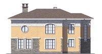 Проект кирпичного дома 39-26 фасад
