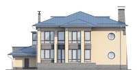Проект кирпичного дома 39-44 фасад