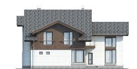 Проект кирпичного дома 39-47 фасад