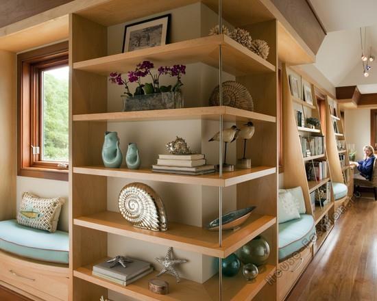 Открытые полки в дизайне интерьера: функциональность и эстетика