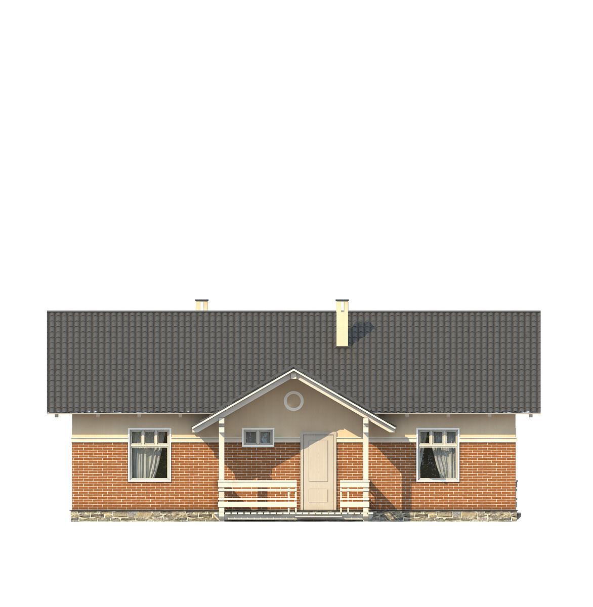 Проект дома 001-1 фасад