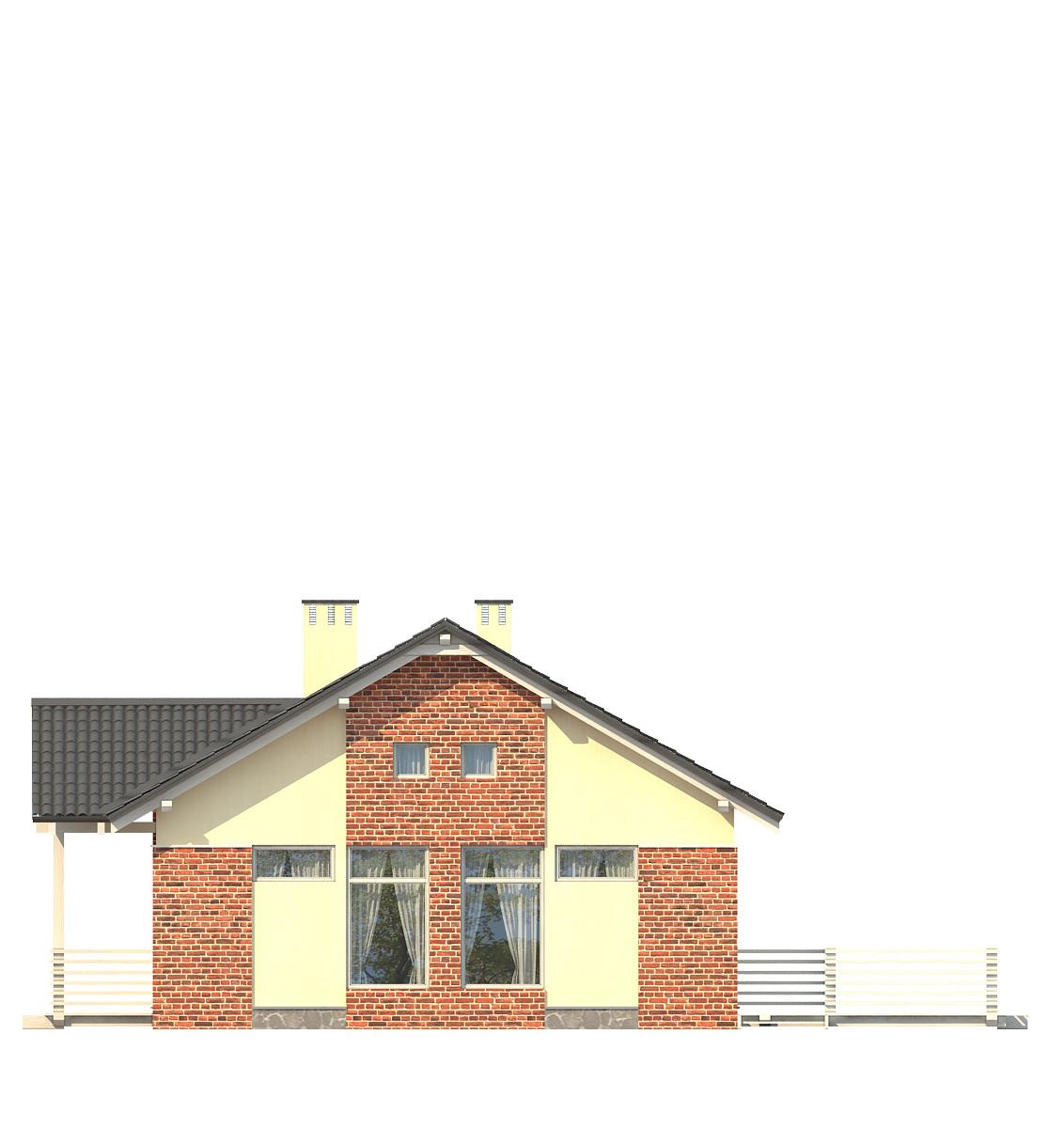 Проект дома 003-1 фасад