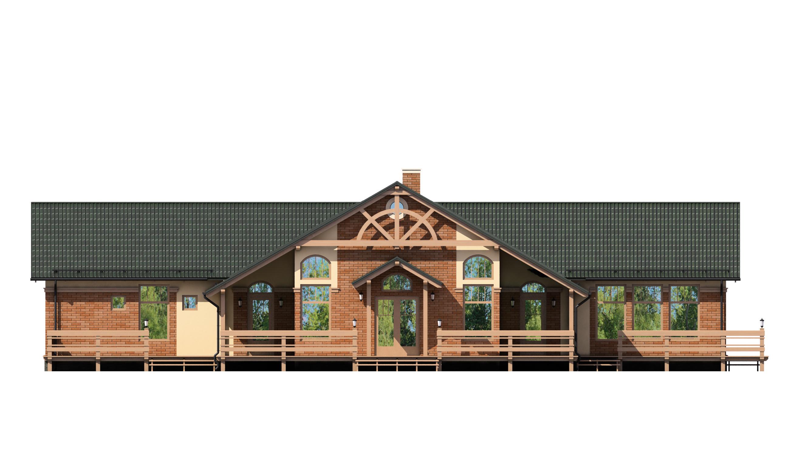 Проект дома 005-1 фасад