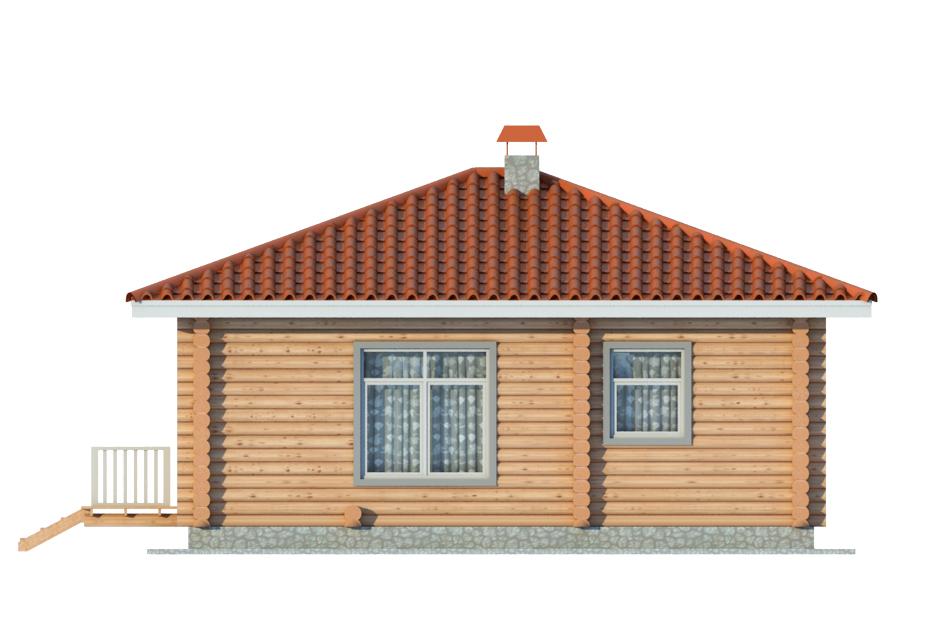 Проект дома 010 фасад