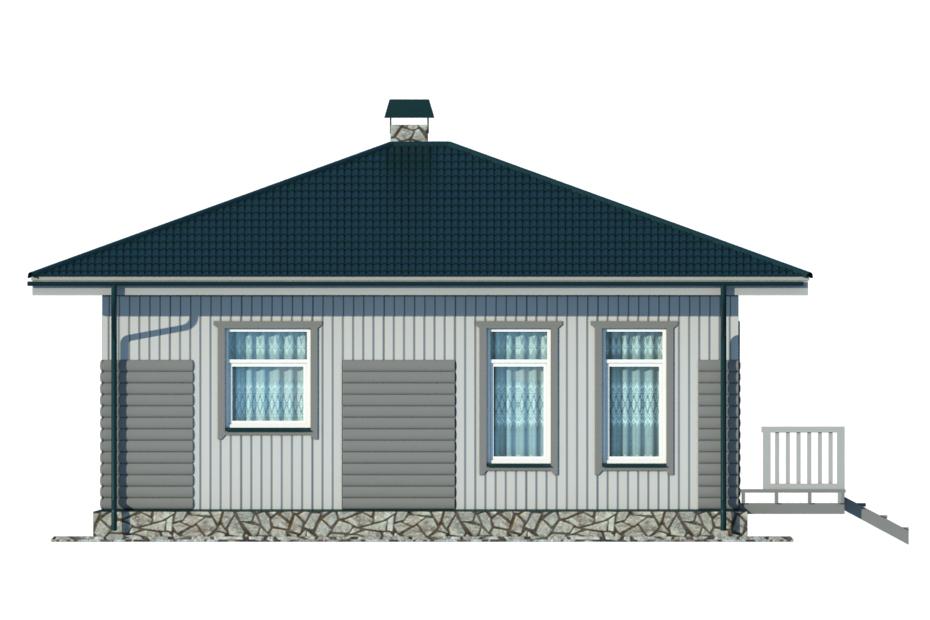 Проект дома 011 фасад