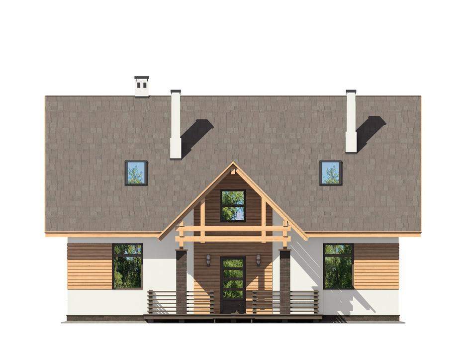Проект дома ДГ-2 фасад
