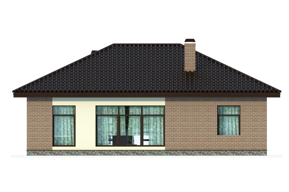 Проект дома ДГ-4 фасад