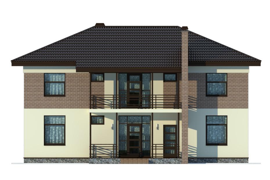 Проект дома ДГ-4.2 фасад