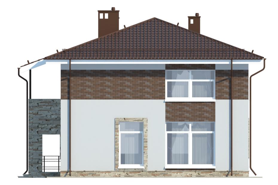 Проект дома ДГ-4.3 фасад