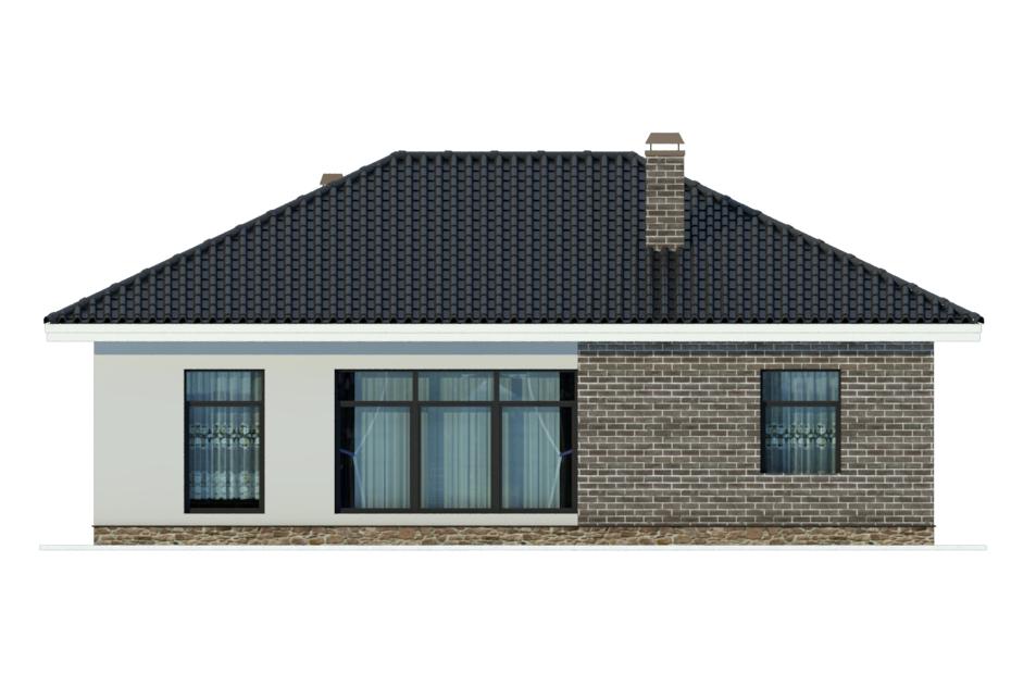 Проект дома ДГ-4а фасад