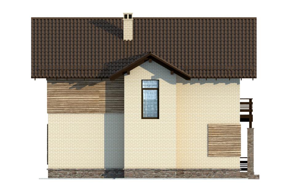 Проект дома ДГ-6 фасад