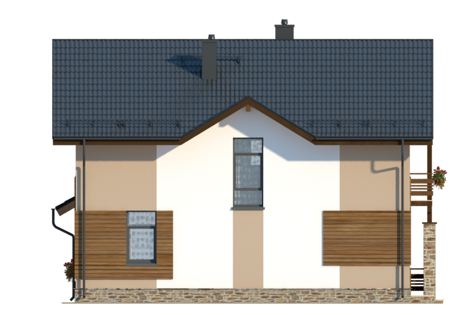 Проект дома ДГ-6.1 фасад