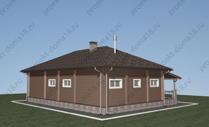 Проект Д-01-14 фасад